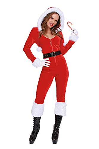 Dreamgirl Women's Ms. Claus, Costume, Extra Large