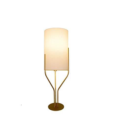 Tripod Floor Lamp met Doek lampenkap Staande Lamp Designer Stand Up lichtpunt E27 Bollen Button Schakelaar for Living Room Slaapkamer Kantoor Hotel