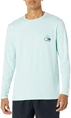 Quiksilver Men s Heritage Long Sleeve UPF 50 Sun Protection Eggshell Blue S product image