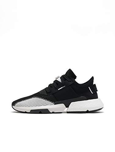 Adidas POD-S3.1, Zapatos de Escalada para Hombre, Negro (Negbás/Negbás/Ftwbla 000), 43 1/3 EU