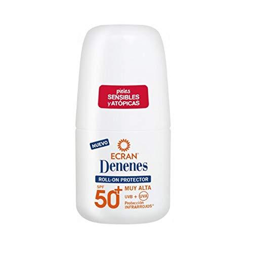 Ecran Denenes - Roll On Protector SPF 50 para Sensibles y Atópicas - 50 ml