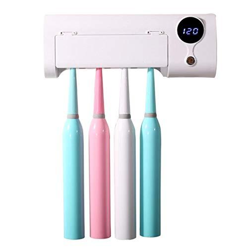 Euopat UV desinfectante Cepillo de Dientes Titular, Montaje en Pared Cepillo de Dientes eléctrico desinfectante Titular para el Cepillo de Dientes Oral-B, baño, niños, Mejor Regalo