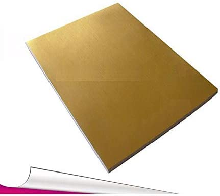 50 sheets A4 Gold Now free shipping Color cheap Self-adhesive Wa Printing Stickers Paper