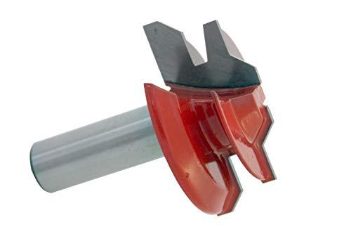45° HM Hartmetall bestückte Verleimfräser Oberfräser Holzfräser Nut Feder 12mm