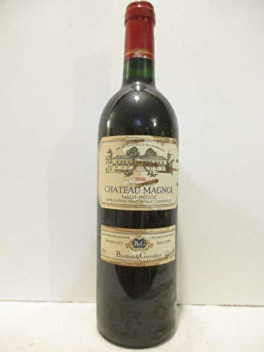 haut-médoc château magnol cru bourgeois (étiquette tâchée) rouge 1995 - bordeaux