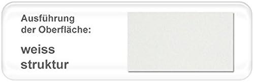 expendio hochwertiges Metallbett Weda komplett, Varianten, Bett + Lattenrost + Matratze, Jugendbett Doppelbett Ehebett, Liegefl e 90 x 200cm  , Farben WeißStruktur