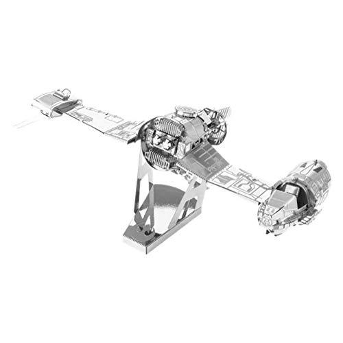 Kit para construir naves y vehiculos Metal Earth en 3D del episodio 8 de Star Wars: SKI speeder de la resistencia