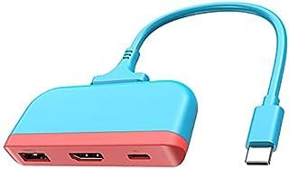 TV-docka för Nintendo bärbar dockningsstation USB C till 4K HDMI-kompatibel USB 3.0 PD-dockningsstation Dock för switch