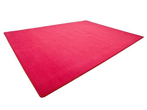 HEVO Vorwerk Bijou rot Spielteppich Nicht nur für Kinder 200x300 cm