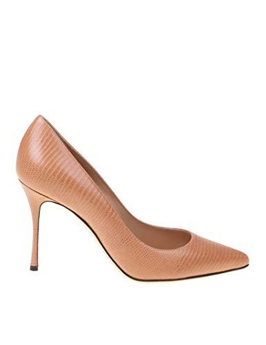 Sergio Rossi Luxury Fashion Damen A43843MAGS032222 Rosa Leder Pumps | Herbst Winter 20