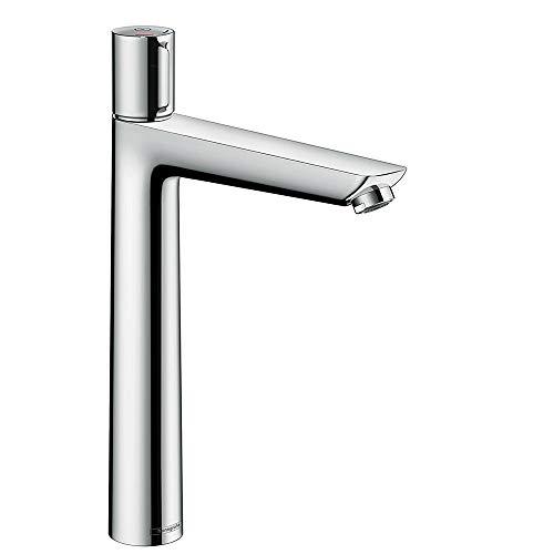 hansgrohe Wasserhahn Talis Select E (Armatur mit Auslauf Höhe 240 mm, ohne Ablaufgarnitur) Chrom