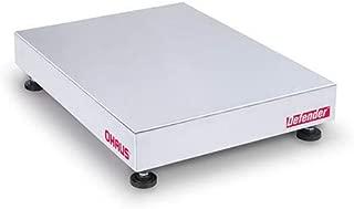 Ohaus D125WTX, Defender 5000 Washdown Bench Scale Base, 250 lb x 0.05 lb, NTEP