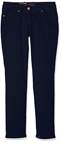 TONI Damen Perfect Shape Slim Jeans (schmales Bein), Blue (Dark Blue 059), W36/L29 (Size:44K)