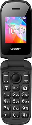 Mobile - Portable 2 G - Téléphone Portable Basique - Feature Phone - Téléphone Cellulaire - Le Fleep 178 Mobile débloqué 2G (Écran : 1,77 Pouces - 32 Mo - Double Nano SIM) Noir et Bleu
