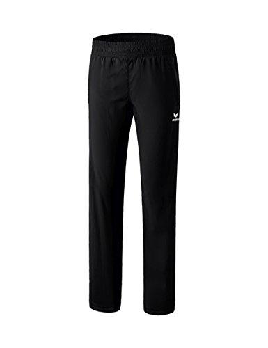 erima Damen Hose Hose mit durchgehendem RV, schwarz, 42, 8100701