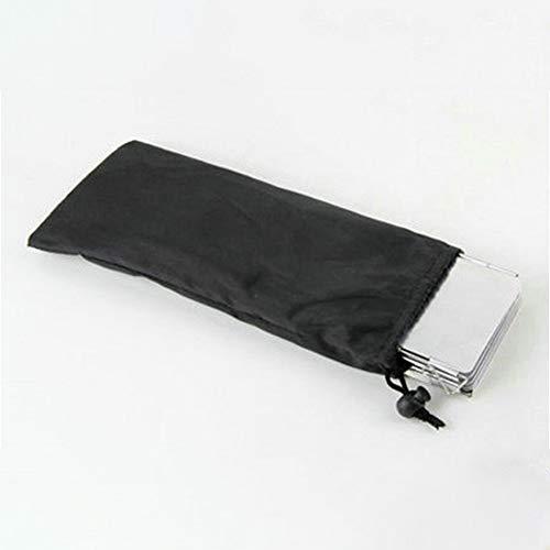 Xiangze Faltbar Windschutz Aluminium Windschutz Windschutzscheibe Windscreen mit 8 Aluminiumblech für Öfen/Campingkochern/Gaskochern Weiß