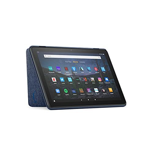 Amazon Fire HD 10 Tablet Cover (Only compatible with 11th generation tablet, 2021 release) - Denim