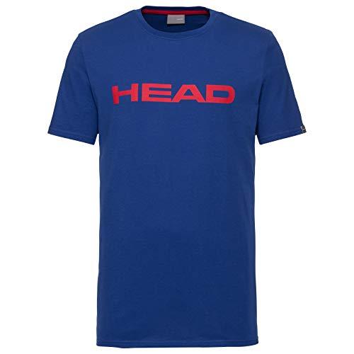 HEAD Kinder Club Ivan T-Shirt JR, royal blau/Rot, X-Small