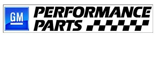 GM Performance Parts - Sticker Graphic - Auto Wall Laptop Cell Truck Sticker - Easy Stick Sticker Graphic