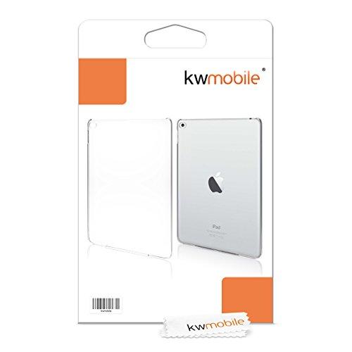 kwmobile Elegante y ligera funda Crystal Case para Apple iPad Air 2 en transparente