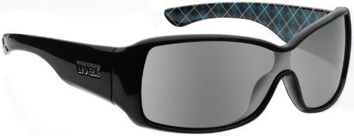 Uvex chino Gafas de sol Black Deko de Negro
