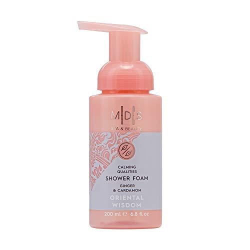 Mades Cosmetics - Oriental Wisdom, Ginger & Cardamom Calming Qualities Shower Foam, 200ml