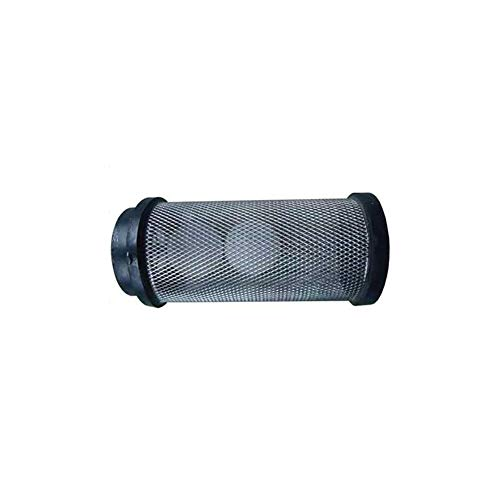 Floor Scrubber Strainer Assembly with 2 Shut Off Float Balls Expanded Mesh Type Floor Cleaning Machine Waste Water Tank Filter Basket