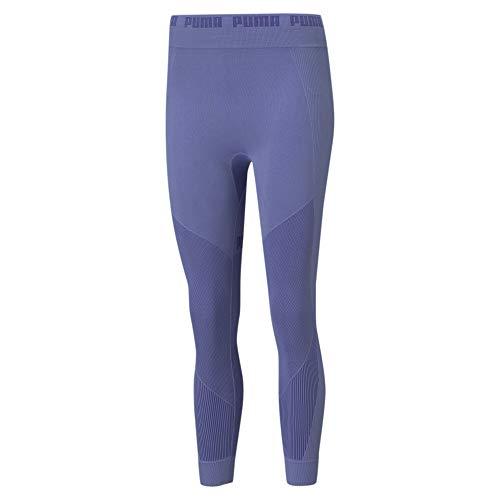 PUMA Evostripe Evoknit 7/8 Tights Mallas Deporte, Mujer, Hazy Blue, L