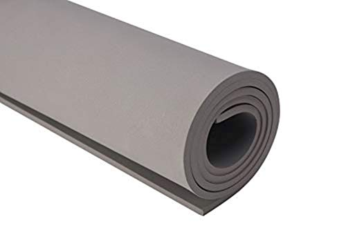 """EVA Foam Sheets for Kids Craft Cosplay Model 13""""×39"""" Thickness 1-10mm Grey"""
