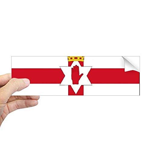 DIYthinker Noord-Ierland Nationale Vlag Europa Land Rechthoek Bumper Sticker Notebook Window Decal