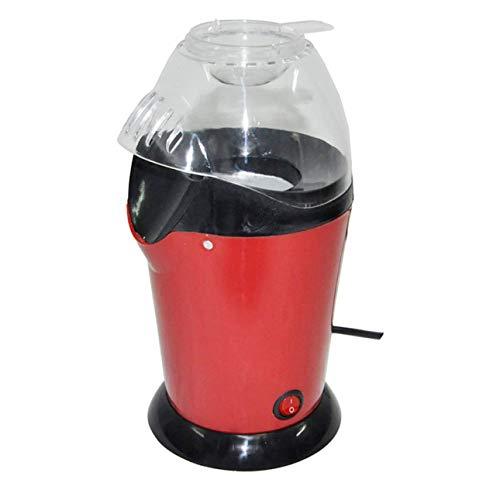 Ba30DEllylelly Máquina de palomitas de maíz Máquina de palomitas de maíz de aire caliente Diseño de gran calibre con taza Mini máquina de maíz eléctrica Inicio