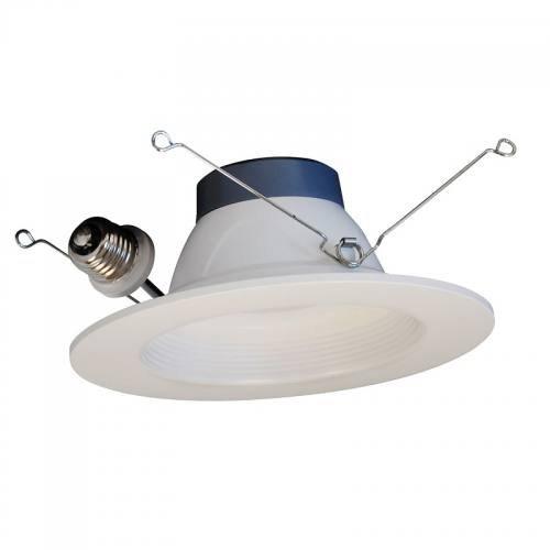 "5"" & 6"" Inch LED Retrofit Module Recessed Downlight, 12W, E26 Base, Dimmable, ETL & Energy Star"