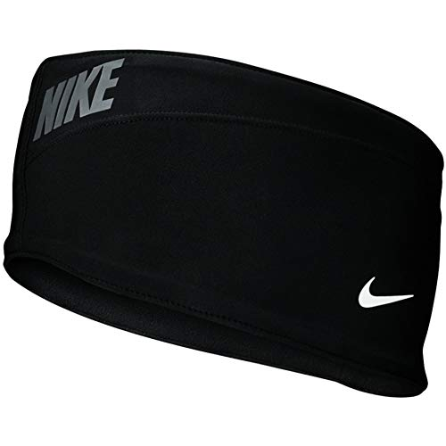 Nike Hyperstorm - Diadema Unisex para Adultos, Color Negro, Talla única