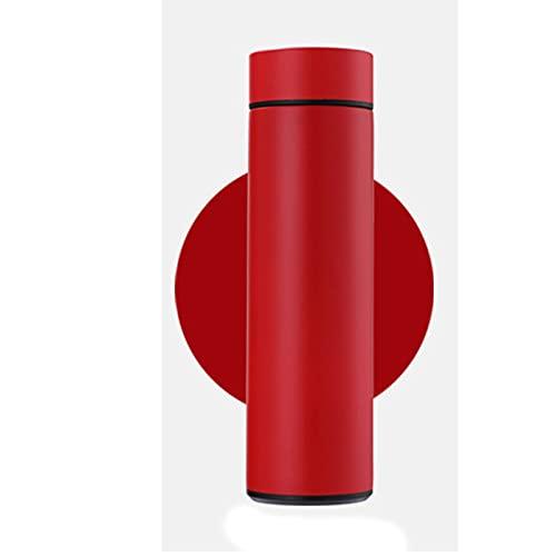 Yfanhan termos mugg med temperatur display high-end intelligent termos rån temperaturmätning mugg företag akut mobil power rånar hem,Red