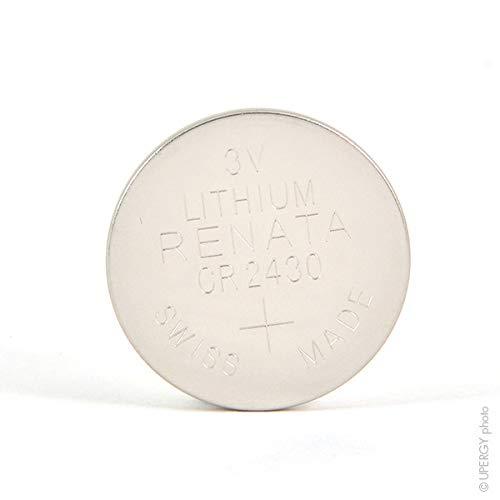 Renata / Swatch Group CR2430 - Pila de botón de Litio (3 V, 285 mAh)
