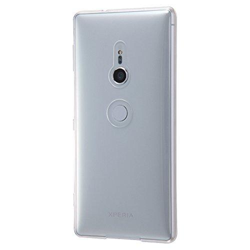 レイ・アウト Sony Xperia XZ2 ケースTPU 極薄 0.8mm ワイヤレス充電対応 クリア RT-RXZ2TC7/CM