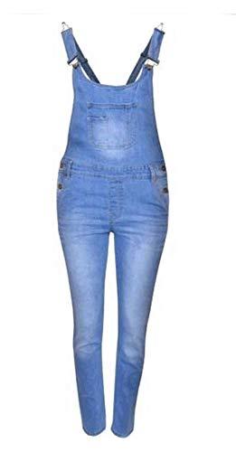 CELEBMODELOOK K81 Niña Mono Largo Mono Pichi Mono 7-14 Vaqueros Niños Jeans...