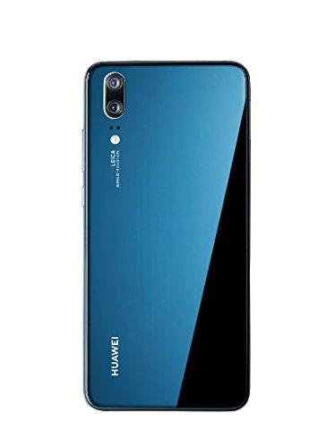 Huawei P20 Smartphone (14,7 cm (5,8 Zoll), 128GB interner Speicher, 4GB RAM, 20 MP Plus 12 MP Leica Dual Kamera, Android 8.1, EMUI 8.1, Dual SIM) Midnight Blue (West European Version) - 2