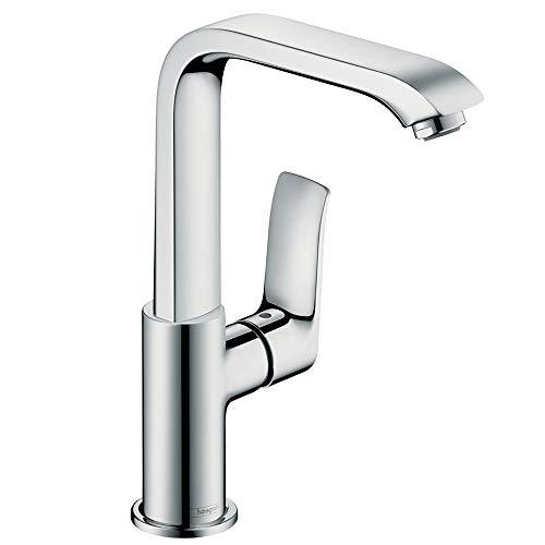 Hansgrohe 31081000 Metris grifo monomando de lavabo, 230mm sin vaciador automático, cromo