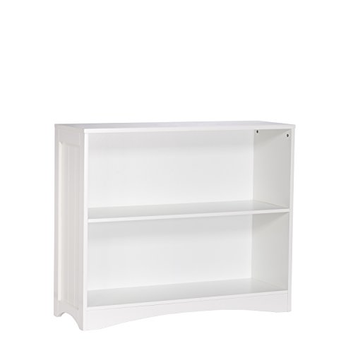 RiverRidge Horizontal Bookcase, White