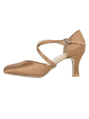 So Danca Damen Bl156 Standard- & Latintanzschuhe, Braun (Copper Copper), 39 EU