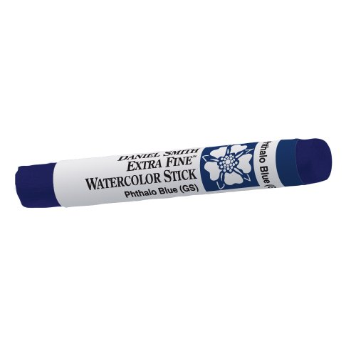 DANIEL SMITH 284670017 Extra Fine Watercolor Stick 12ml Paint Tube, Phthalo Blue Green Shade