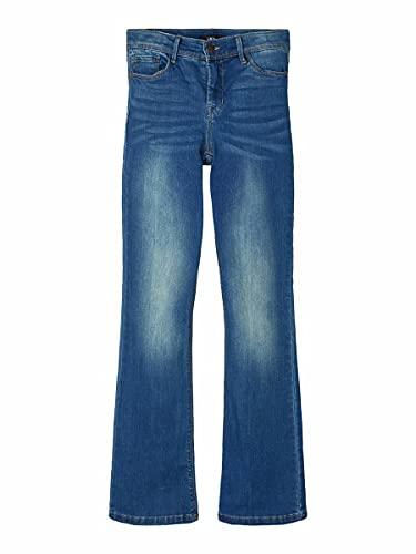 NAME IT Moments Bügel BH Jeans, Azul (Medium Blue Denim Medium Blue Denim), 170 para Niñas