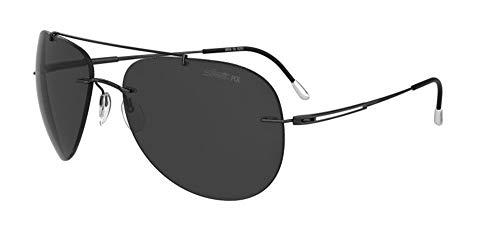 Silhouette Gafas de Sol ADVENTURER 8176 Black/Dark Grey talla única mujer
