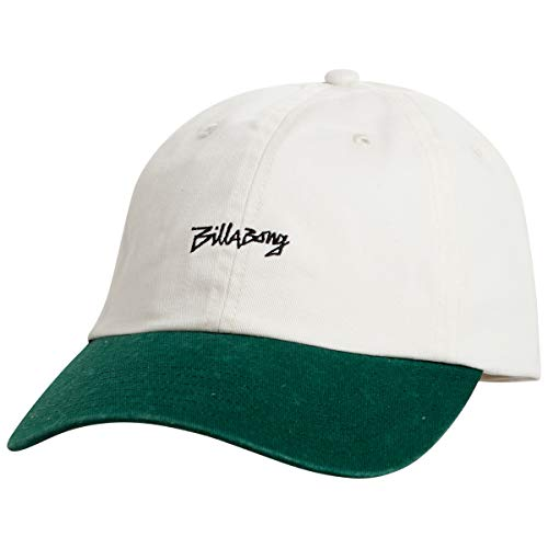 BILLABONG Eighty Six Lad Cap Basecap Baseballcap Baumwollcap Strapback (One Size - weiß)