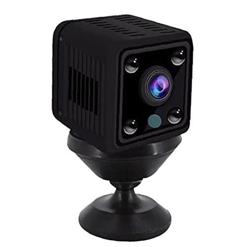 ODOUKEY-pequeña cámara de Seguridad de la cámara X6 Mini cámaras de vigilancia de la cámara de WiFi inalámbrica con visión Nocturna para el hogar Cubierta Negro de Seguridad