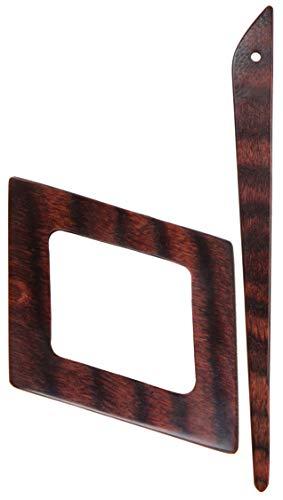 KnitPro K20833 Strickschluss, Wood, Multi, 14 cm