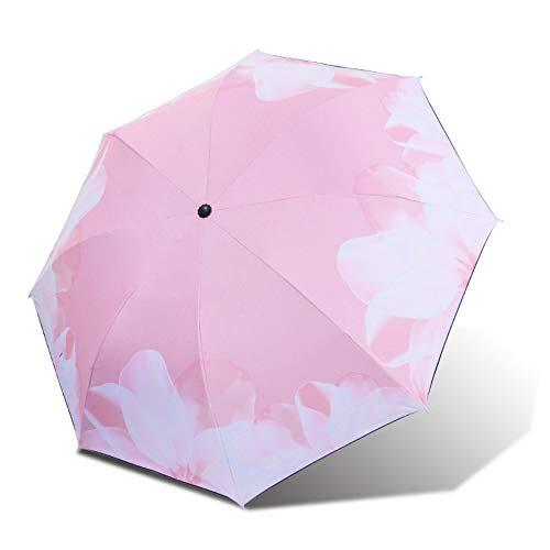 no logo YYouRuiSun Paraguas, Paraguas de Lluvia, protección Solar Triple