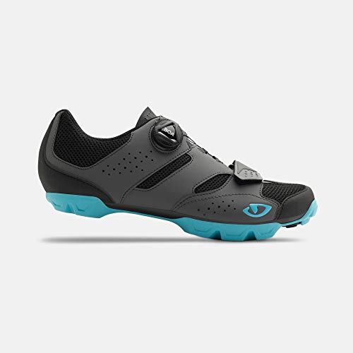 Giro Cylinder W Womens Mountain Cycling Shoe − 40, Dark Shadow/Iceberg (2020)