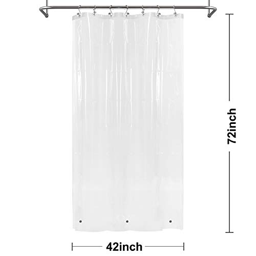 Barossa Design Shower Curtain or Liner with 3 Magnets for...